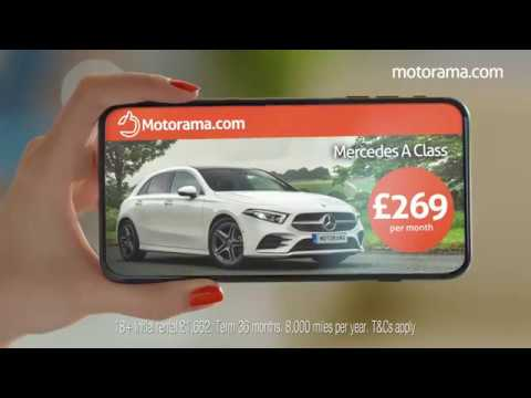 Motorama Tv Ad Mercedes A Class Car Leasing Promotion Youtube