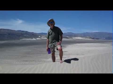 Humming Dunes in Death Valley