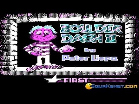 Boulder Dash 2 Gameplay (PC Game, 1985)