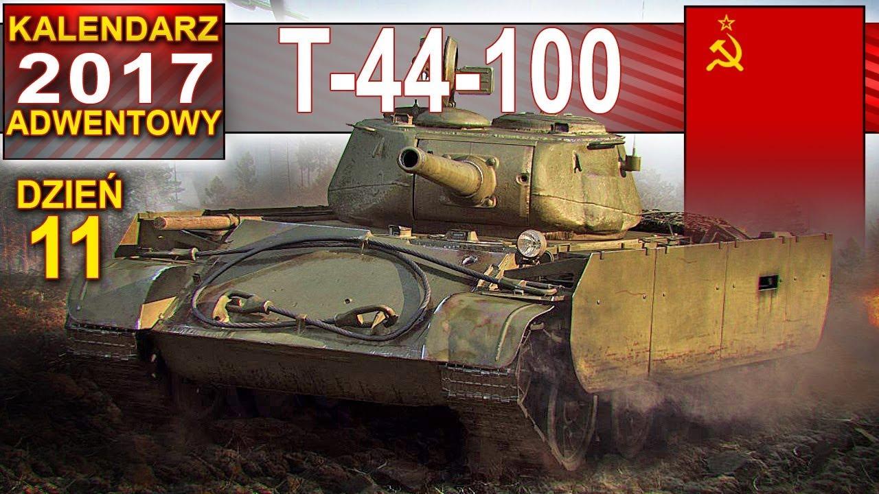 T-44-100 mobilny i z niezłym działem – World of Tanks