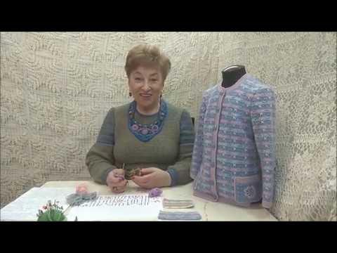 """Жакет """"Голубка"""". Мастер-класс по вязанию крючком для детей от О. С. Литвиной."""