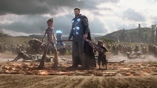 Thor arrives in wakanda  Avengers Infinity War