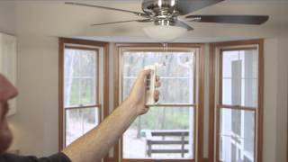 Troubleshooting the Emerson SR600 and SR650 Ceiling Fan Remote Controls
