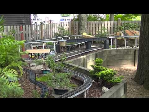 2014 SJGRS Garden Railway Tour G Scale