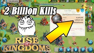 2 Billion Kills!? [ I Want ] Most Kills| Rise of Kingdoms