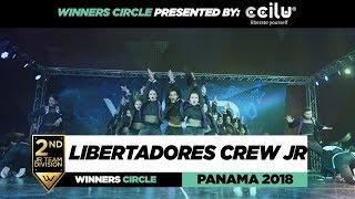 LIBERTADORES CREW JR | 2ND Place JR Team | Winners Circle | WOD PANAMA 2018 | #WODPANAMA2018