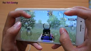 iPhone 8 Plus Test Game PUBG 4 Finger full Gyro After Update Version 0 17 0