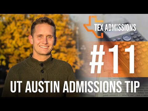 UT-Austin Admissions Tip #11: Do rank and test scores matter?