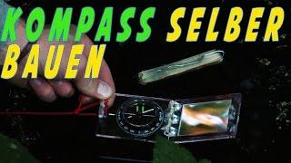 Kompass selber bauen || Survival Hack || Einfach und schnell!