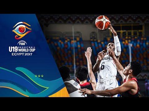 Canada v Japan - Full Game - FIBA U19 Basketball World Cup 2017
