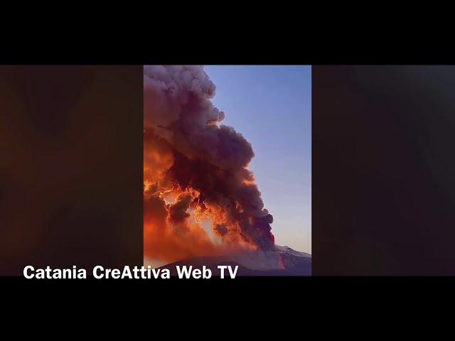 Etna Eruption 16/02/2021 - Spettacolo!