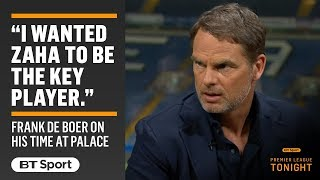 Frank de Boer opens up on his short time as Crystal Palace manager