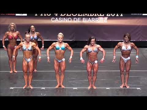 Women's Physique up to 163 at the IFBB World Fitness Championships 2017 (Biarritz), comparison 3