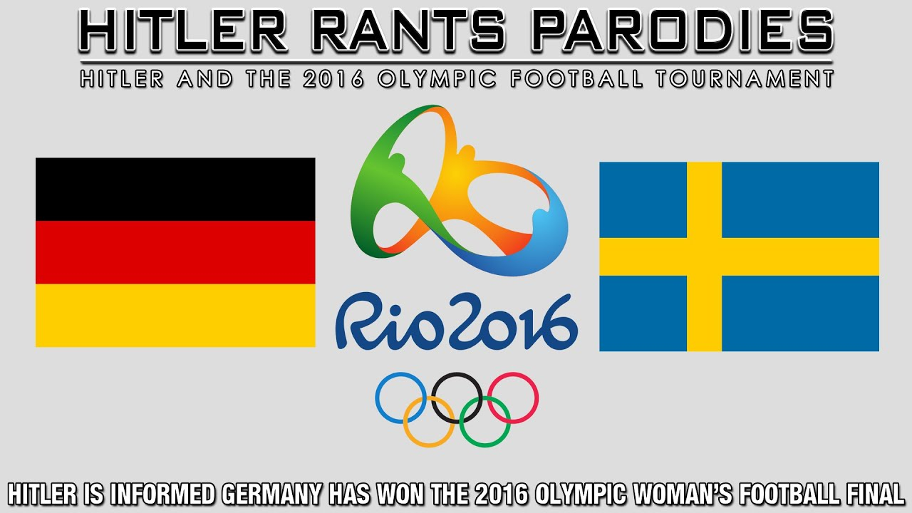 Hitler is informed Germany has won the 2016 Olympic Woman's Football Final
