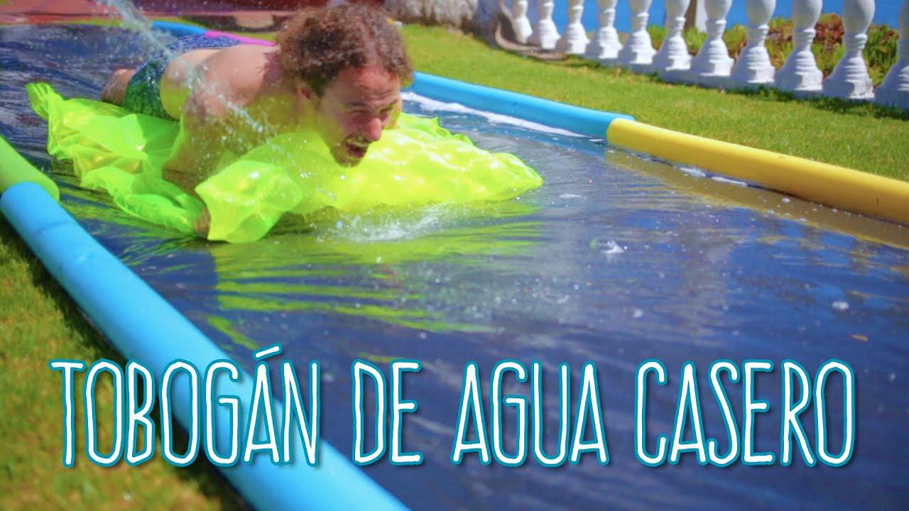 Tobog N De Agua Casero Y Muy Divertido Luisito Comunica