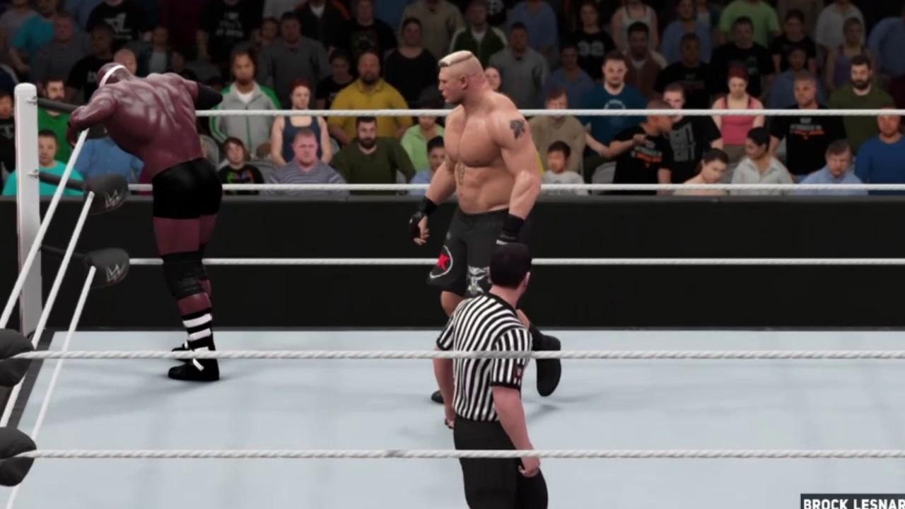Download WWE2k17 fantasy warfare lashley vs.Lesnar