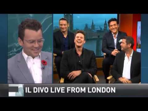 Il divo talks amor pasion with tim bolen youtube - Il divo translation ...