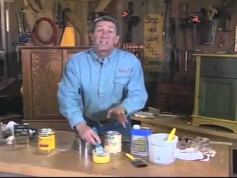 Safety Tips for Working with Wood Finishing Products