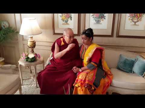 Neeta Bhatt   Met 14th His Holiness The Dalai Lama.