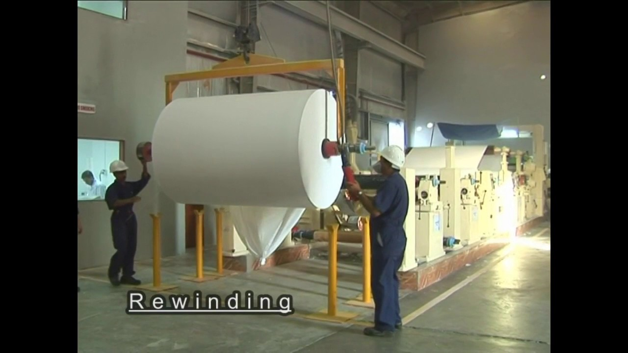 Tissue Paper production / manufacturing process