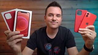 Red iPhone 12 Unboxing, Impressions & Key Features
