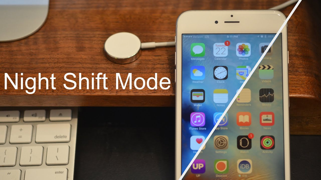 Image result for night shift on iPhone camera