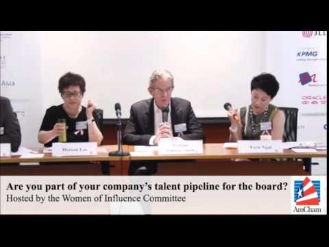 WOI Luncheon Panel on Boardroom Pipeline, Jun 20