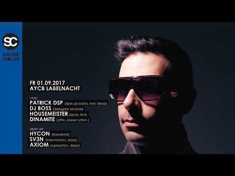 Patrick DSP Live @ Suicide Circus, Berlin - 01.09.2017