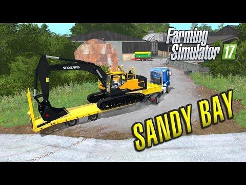 Farming Simulator 2017 | Sandy Bay | Episode 1