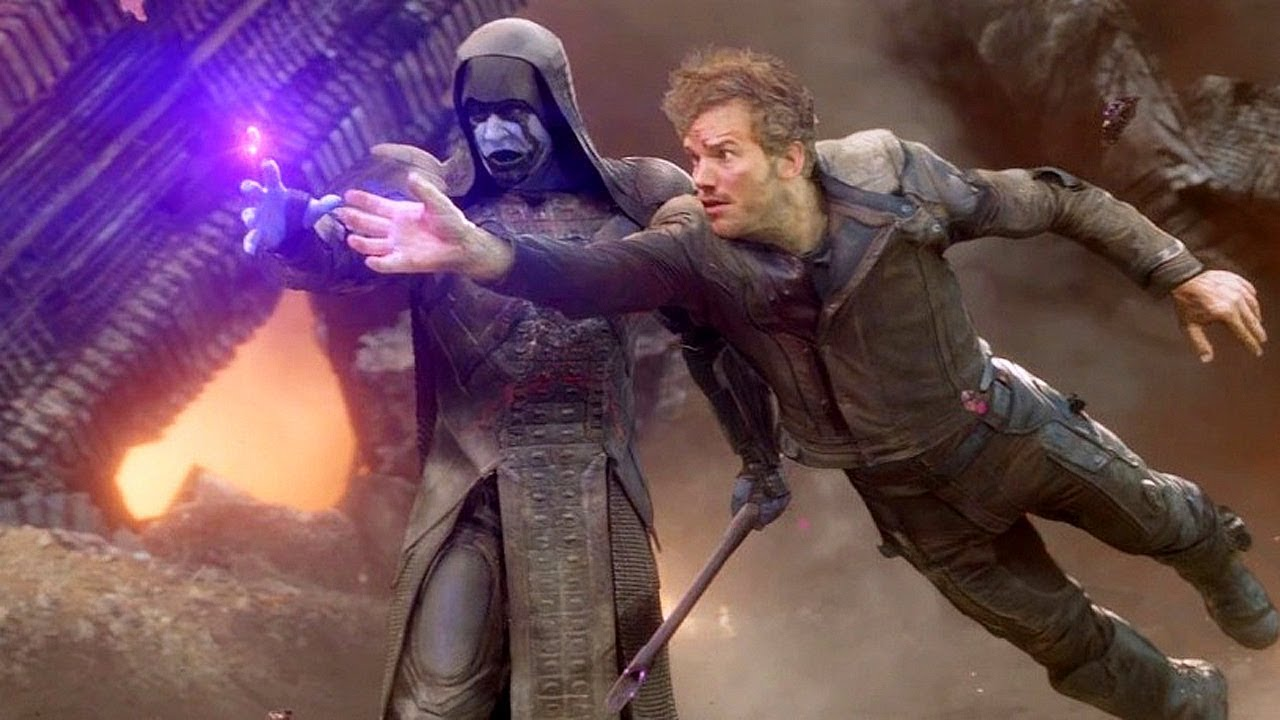 """Download Star Lord """"Dance Off Bro"""" Battle of Xandar Scene - Guardians of the Galaxy (2014) IMAX Movie CLIP HD"""