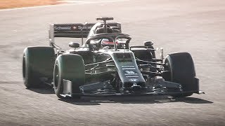 Kimi Räikkönen testing the new 2019 Alfa Romeo Racing C38 F1 Car!
