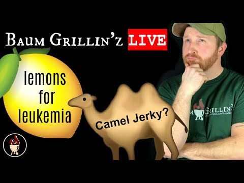 Lemons For Leukemia, Mystery Box and Chat! | Baum Grillin'z Live