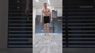 Стойка на руках узким хватом и поза йоги лоласана
