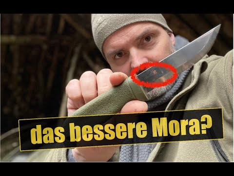 Cold Steel Finn Hawk - Das bessere Mora Messer?