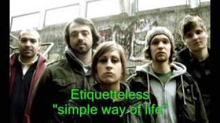 Etiquetteless - Simple wąy of life (live)