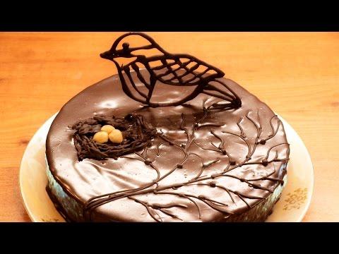 Торт Птичье молоко / How to make Birds milk cake ♡ English subtitles