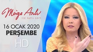 Müge Anlı ile Tatlı Sert 16 Ocak 2020 | Perşembe