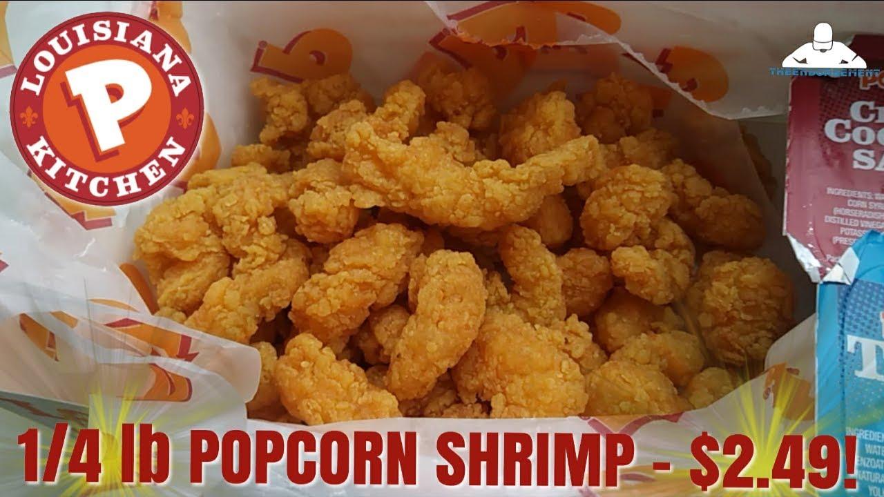 Popeyes 1 4lb Popcorn Shrimp For 2 49 Youtube