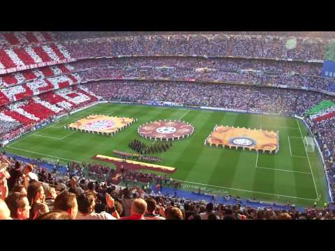 UEFA Champion's League Final 2010 - Opening Ceremony