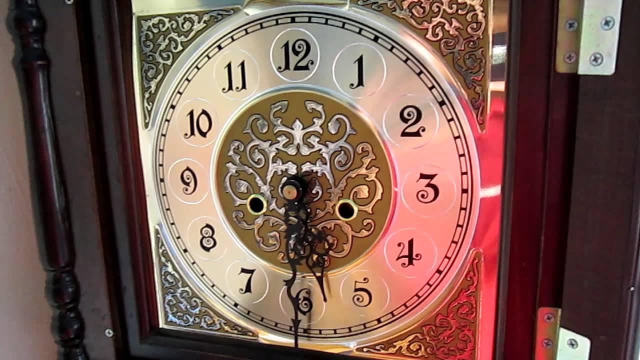 Custom Cheap Wood Grandfather Clock With Hermle Triple