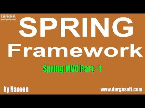 Java Spring | Spring Framework | Spring MVC Part - 1 by Naveen