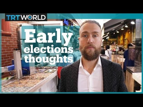 Istanbulites' thoughts on Turkey's early elections