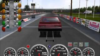 1987 Mustang 5.0 (3000+HP) IHRA Drag Racing PC Game
