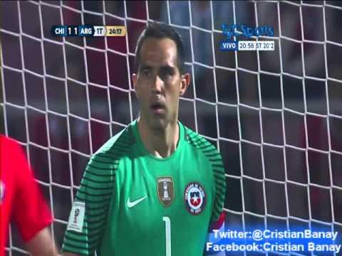 Chile 1 Argentina 2 (Relato Rodolfo De Paoli) Eliminatorias Rusia 2018