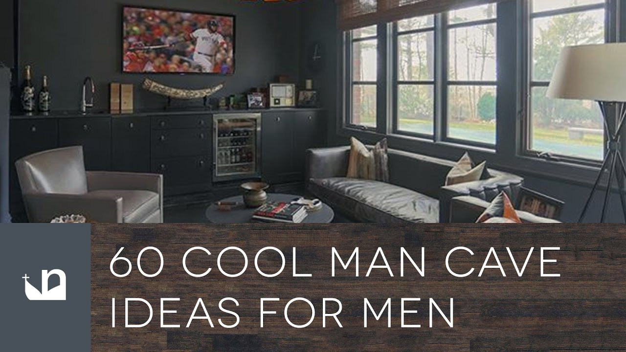 60 Cool Man Cave Ideas For Men - YouTube