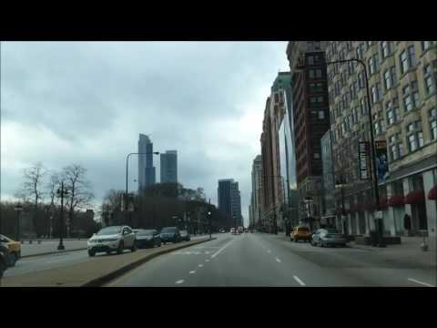 Driving Downtown – Chicago Illinois