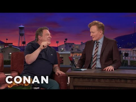 Jeff Garlin Wants Conan To Smoke Pot   CONAN on TBS