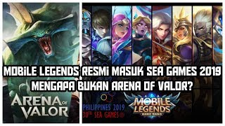 Mobile Legends Masuk SEA Games 2019! Update: AoV juga Masuk!