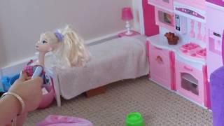 Barbie Puppe Schlafzimmer