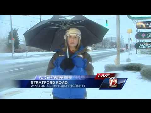 Kimberly reports on Winston-Salem conditions